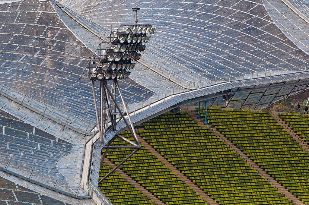 Olympic Stadium Munich roof construction
