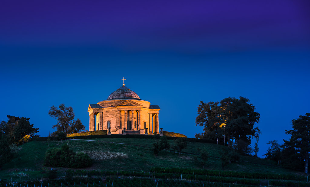 The Württemberg Mausoleum in the Rotenberg part of Untertürkheim in Rotenberg, Stuttgart, Germany.