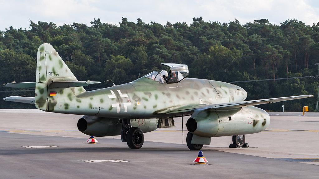 Messerschmitt Me 262 replica D-IMTT ILA 2012 taxi