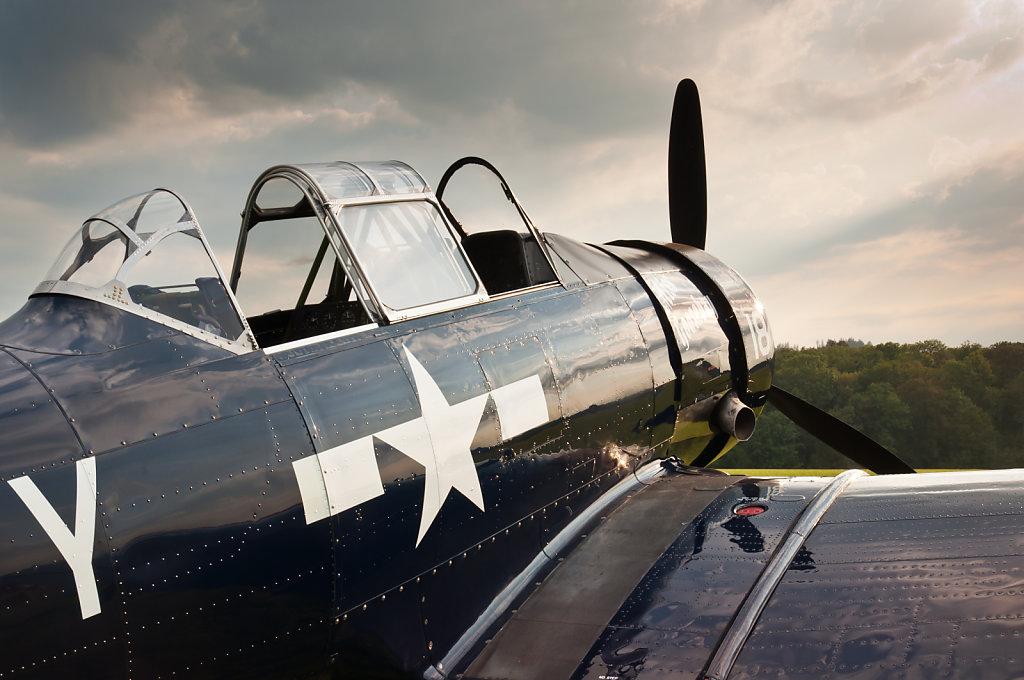 North American AT-6G-NF Texan (reg. N6593D, cn 42-43899(C-NT)/49-3357(G-NF), built in 1942, 600 hp Pratt & Whitney R-1340-AN-2 rotary engine).